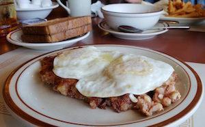 Corned Beef Hash Eggs Breakfast